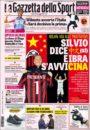 عنوین روزنامه گازتا دلو اسپورت ایتالیا 22 اردیبهشت95
