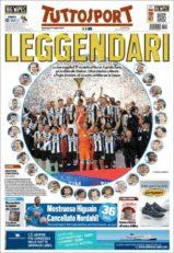 عناوین روزنامه توتو اسپورت ایتالیا 26 اردیبشت95