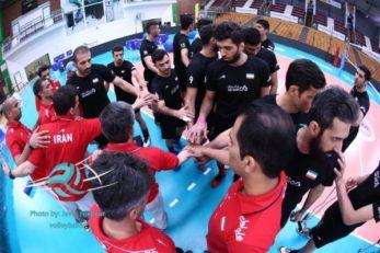 تمرینات والیبال ایران