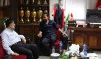 دیدار محمد نصرتی با آجرلو