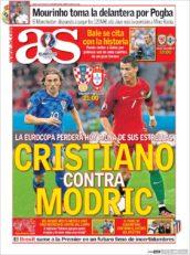 روزنامه آ.اس اسپانیا 5 تیر