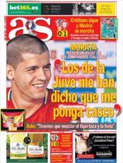 عناوین روزنامه آ.اس اسپانیا 6 تیر 95