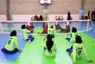 تیم والیبال نشسته بانوان