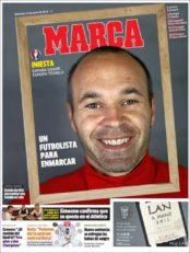 عناوین روزنامه مارکا اسپانیا 26 خرداد 95