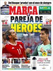 عناوین روزنامه مارکا اسپانیا 6 تیر 95