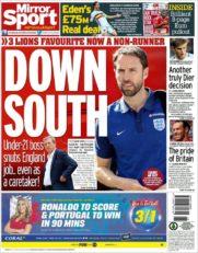 روزنامه میرور اسپورت بریتانیا 10 تیر 95