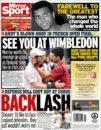 عناوین روزنامه میرور اسپورت بریتانیا 17 خرداد 95