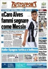روزنامه توتو اسپورت ایتالیا 5 تیر 95