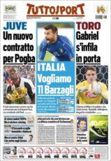روزنامه توتو اسپورت ایتالیا 6 تیر 95