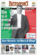 عناوین روزنامه توتو اسپورت ایتالیا16 خرداد 95