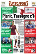 عناوین روزنامه توتو اسپورت ایتالیا18 خرداد 95