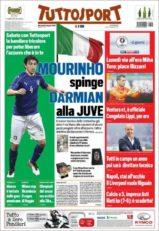 عناوین روزنامه توتو اسپورت ایتالیا19 خرداد 95
