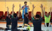 تمرینات تیم ملی فوتسال