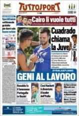 عناوین روزنامه توتو اسپورت ایتالیا 17 تیر 95