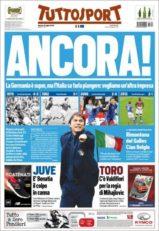 عناوین روزنامه توتو اسپورت ایتالیا 12 تیر 95