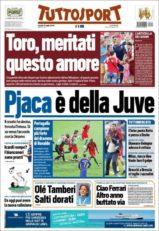 عناوین روزنامه توتو اسپورت ایتالیا 21 تیر 95