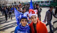 ورزشگاه آزادی _ هواداران استقلال و پرسپولیس