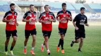 پلی یانسکی - تمرینات تیم فوتبال پرسپولیس