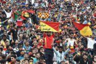 فرید پیرایش - هواداران فولاد خوزستان - عزیز فریسات - ورزشگاه نقش جهان