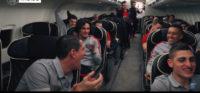 شادمانی بازیکنان پاری سن ژرمن بعد از برد در مقابل مارسی