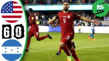خلاصه بازی آمریکا 6-0 هندوراس مقدماتی جام جهانی 2018 روسیه