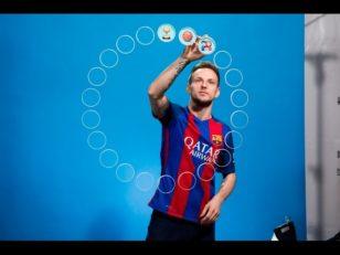 انتخاب شکلک های ایموجی توسط راکیتیچ بازیکن کروات بارسلونا