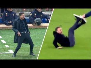 برترین عکس العمل های سرمربی های دنیای فوتبال