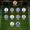 تیم منتخب لیگ برتر انگلیس