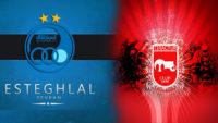 رادیو پارس فوتبال بازی تراکتورسازی و استقلال تهران