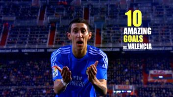 10 گل تماشایی رئال مادرید به والنسیا