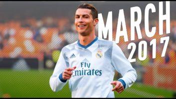 مهارت ها و عملکرد رونالدو ستاره رئال مادرید در ماه مارس