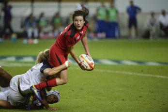 خشن ترین تکل های راگبی زنان در المپیک ریو