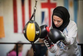 آمایا ظفر اولین بوکسور زن باحجاب