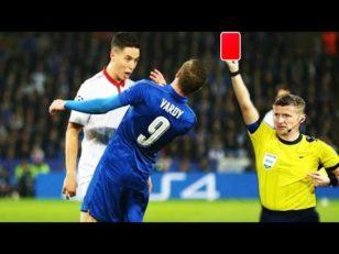 10 کارت قرمز ناجونمردانه فوتبال
