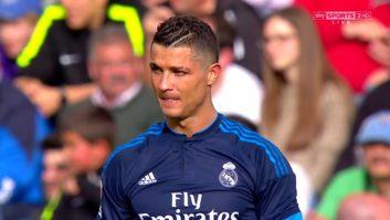 عملکرد رونالدو بازیکن رئال مادرید در دیدار برابر مالاگا