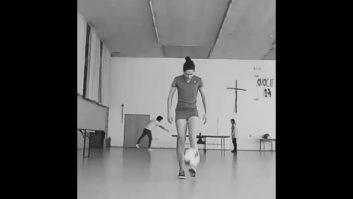 کلیپی از فری استایل تماشایی لوسیا کویکا