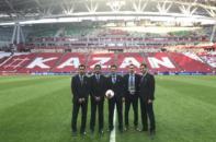 مرحله نیمه نهایی جام کنفدراسیون ها - یم داوری ایرانی شامل علیرضا فغانی، رضا سخندان و رضا منصوری