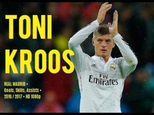عملکرد کروس ستاره رئال مادرید مه 2017