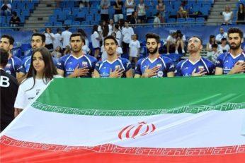 بازی تیم ملی والیبال ایران دومین دیدار خود در لیگ جهانی والیبال