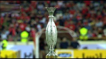 کلیپی از مراسم اهدای سوپرجام باشگاه های ایران به تیم فوتبال پرسپولیس