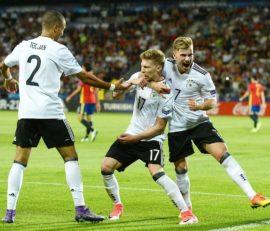 آلمان قهرمان جام ملت های اروپا زیر 21 سال 2017