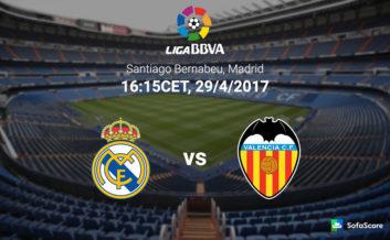 پیش نمایش دیدار رئال مادرید برابر والنسیا