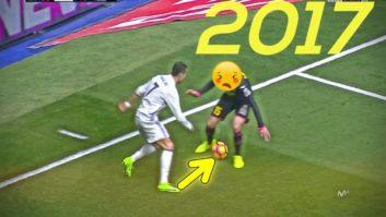 دریبل های تماشایی رونالدو در رئال مادرید