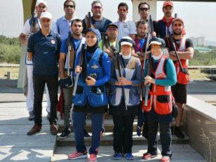 تیم ملی تیراندازی به اهداف پروازی بانوان