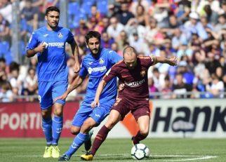 پیروزی بارسلونا در زمین ختافه
