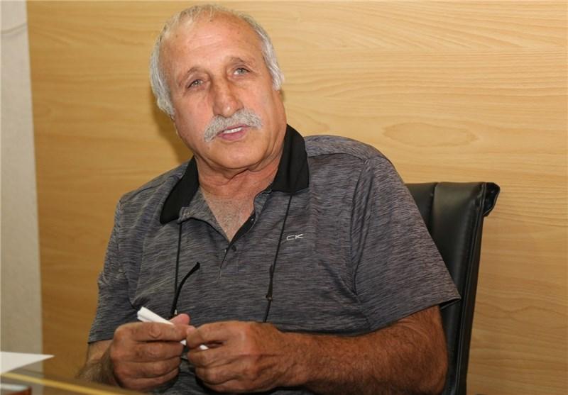 منصور برزگر عضو شورای فنی کشتی آزاد