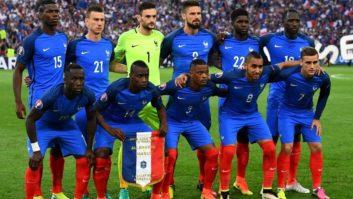 تمرینات تیم ملی فرانسه
