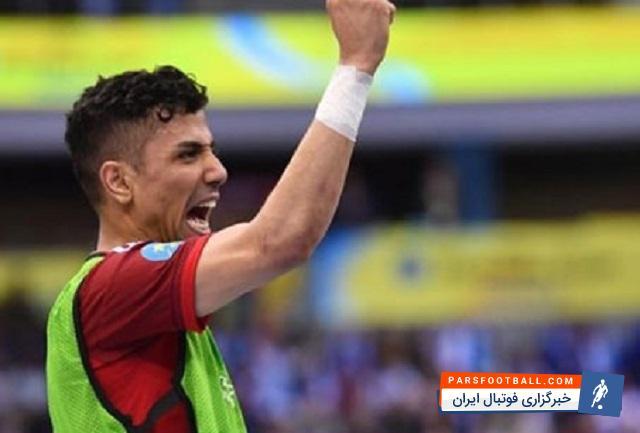 ورزشی/ حسین طیبی فوتسالیست مشهدی در فهرست پیشنهادی تیم منتخب جهان قرار گرفت