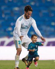 تمرینات جالب ایسکو و پسرش بعد از بازی مقابل اسپانیول