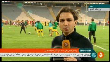 ارتباط زنده با یاسر اشراقی از ورزشگاه آزادی پیش از دیدار تیم ملی ایران و توگو
